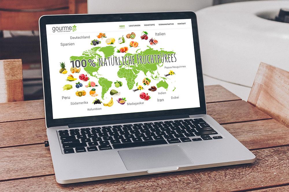 futec AG Referenz Gourmego Webseite